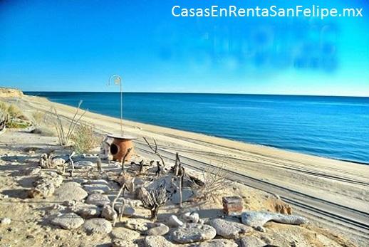 Acampando en San Felipe, Baja, México