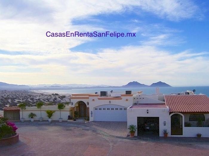 Casa de vacaciones para rentar en San Felipe 3HA 2BA
