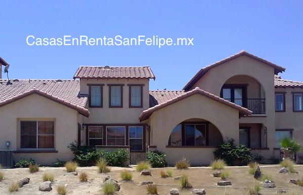 Condominio para renta de vacaciones de Rancho El Dorado en San Felipe, Baja California, Mexico.