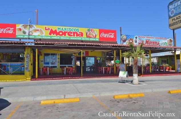 Reseñas de los Restaurantes de San Felipe: Mariscos La Morena