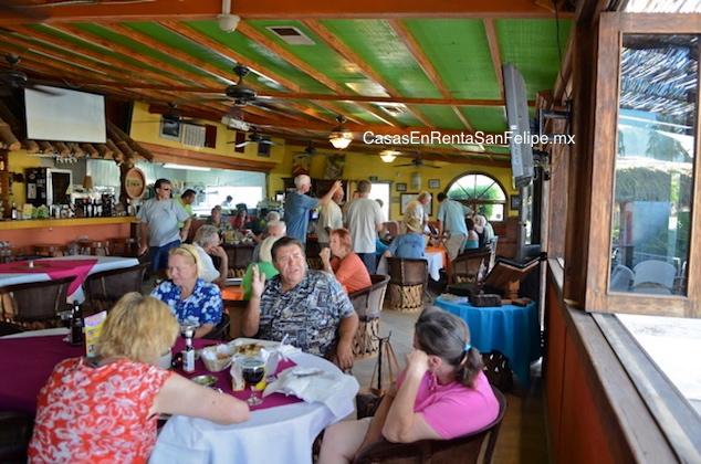 Reseñas de los Restaurantes de San Felipe: Restaurante La Vaquita Marina