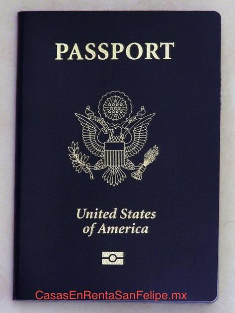 Documentación de Viaje aceptada para cruzar la frontera de Estados Unidos – México